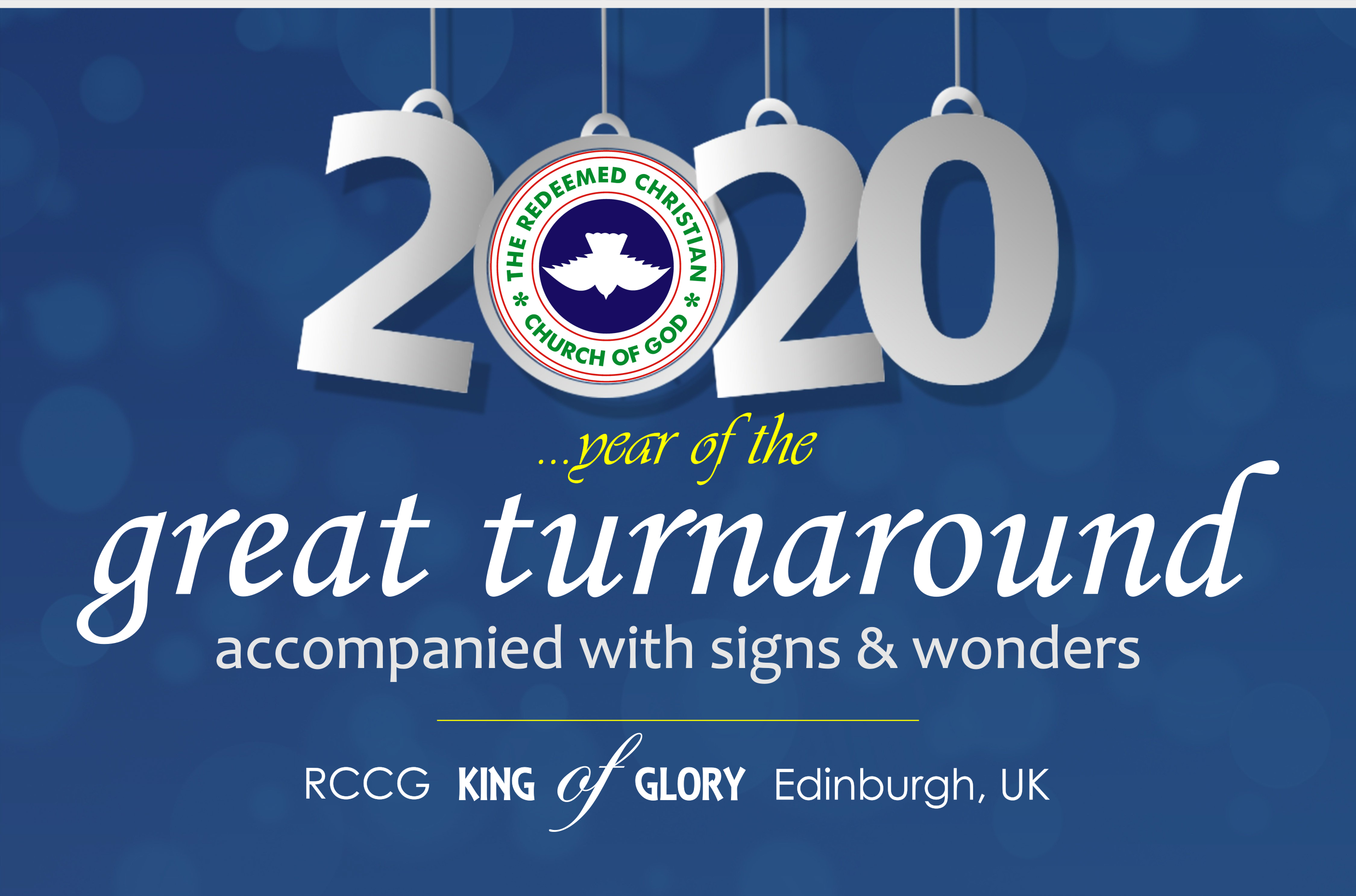 Year of a great turnaround accompanied with signs and wonders