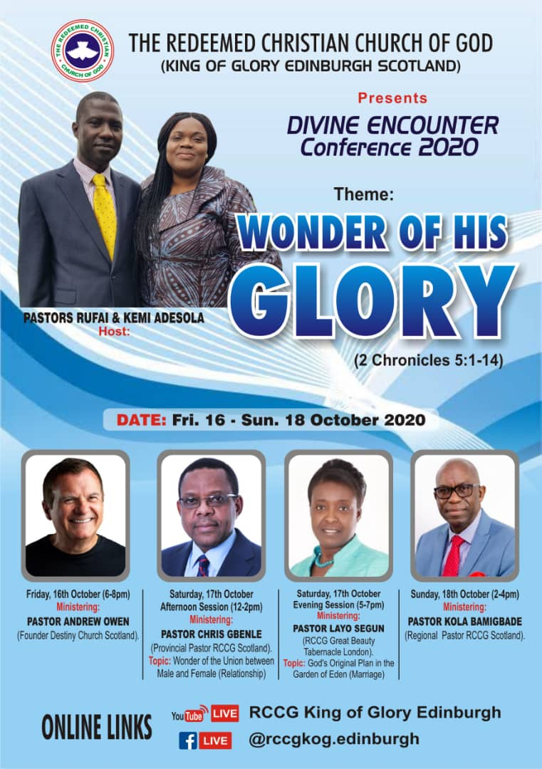 Divine Encounter Conference 2020