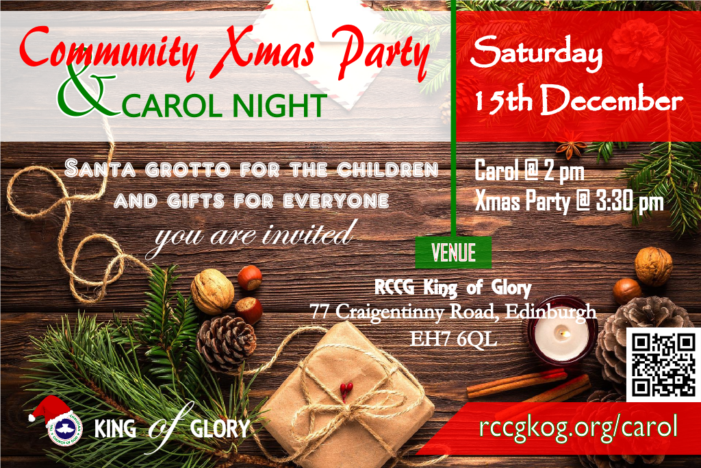 Christmas Carol and Party 2018